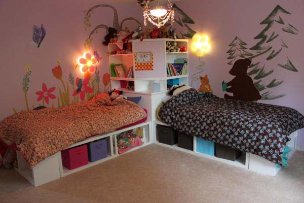 21 brilliant ideas for boy girl shared bedroom