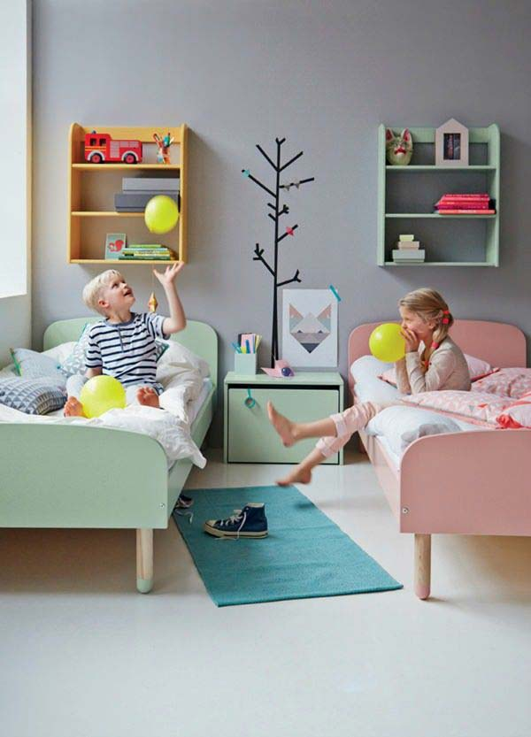 shared bedroom boy girl woohome 16. 21 Brilliant Ideas for Boy and Girl Shared Bedroom   Amazing DIY