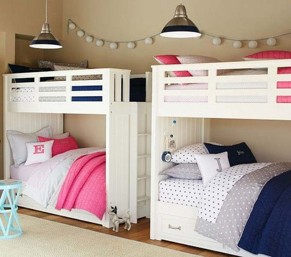 Cute Shared Room: 21 Brilliant Ideas For Boy And Girl Shared Bedroom
