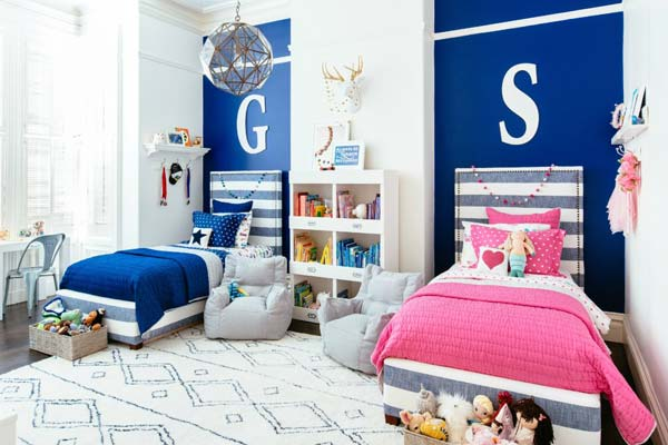 Boy And Girl Sharing A Bedroom Ideas For Decorating 2 Custom Ideas