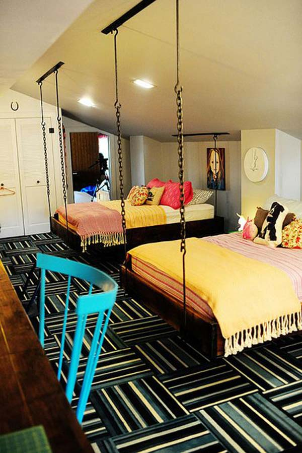 surprising Boy Girl Shared Room Ideas Part - 19: shared-bedroom-boy-girl-woohome-3