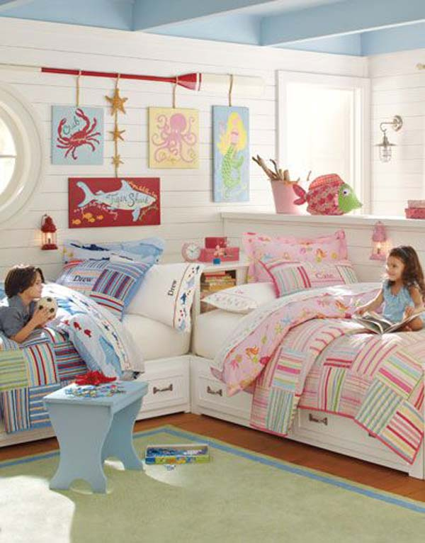 Boy And Girl Sharing A Bedroom Ideas For Decorating 2 New Inspiration Ideas