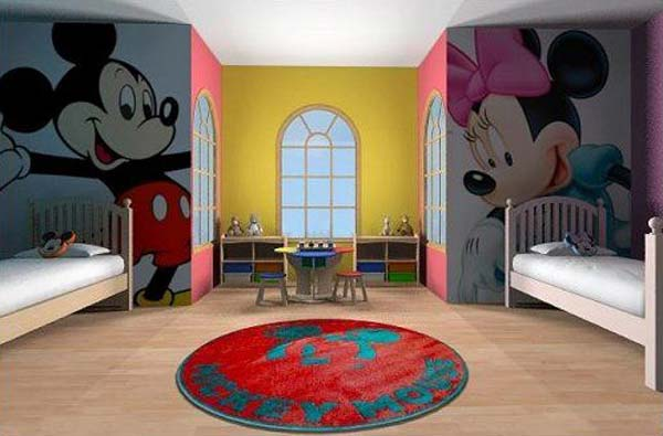 21 Brilliant Ideas For Boy And Shared Bedroom Amazing Diy Rh Woohome Com Childrens Sharing Paint