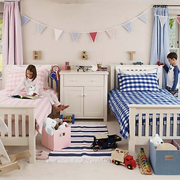 shared bedroom boy girl woohome 6. 21 Brilliant Ideas for Boy and Girl Shared Bedroom