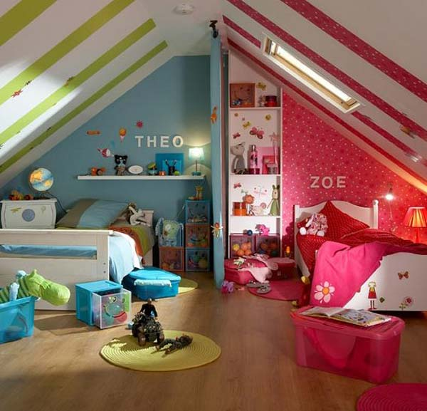 shared bedroom boy girl woohome 8. 21 Brilliant Ideas for Boy and Girl Shared Bedroom   Amazing DIY