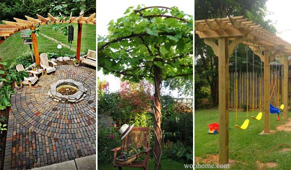 24 Inspiring DIY Backyard Pergola Ideas To Enhance The Outdoor Life ...