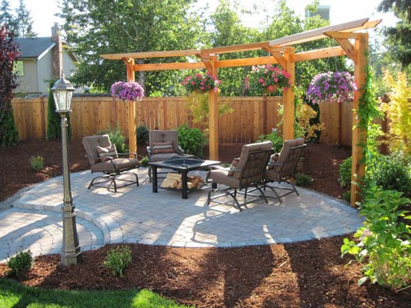 24 inspiring diy backyard pergola ideas to enhance the. Black Bedroom Furniture Sets. Home Design Ideas