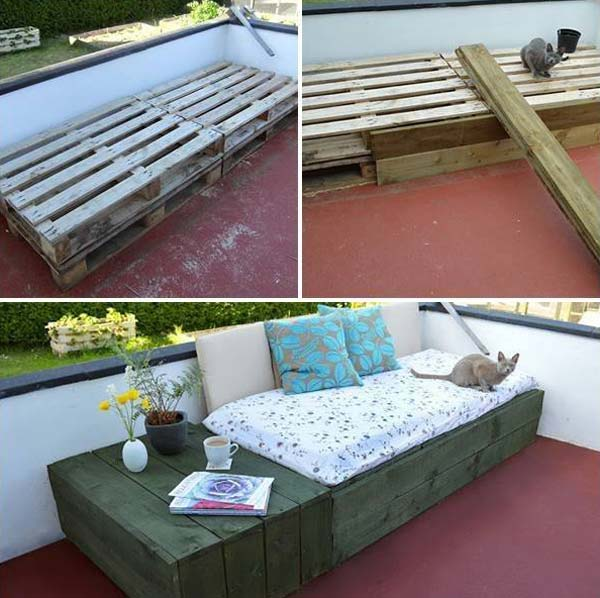 DIY Outdoor Seating Ideas WooHome 13