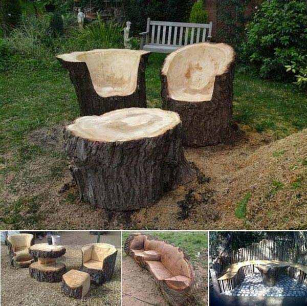 DIY Outdoor Seating Ideas WooHome 19