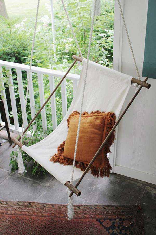 DIY Outdoor Seating Ideas WooHome 2