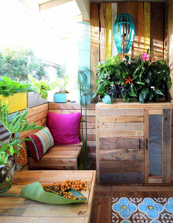 26 awesome outside seating ideas you can make with recycled items diy outdoor seating ideas woohome 25 2 solutioingenieria Gallery