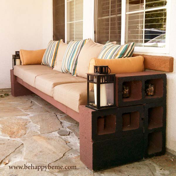 DIY Outdoor Seating Ideas WooHome 26