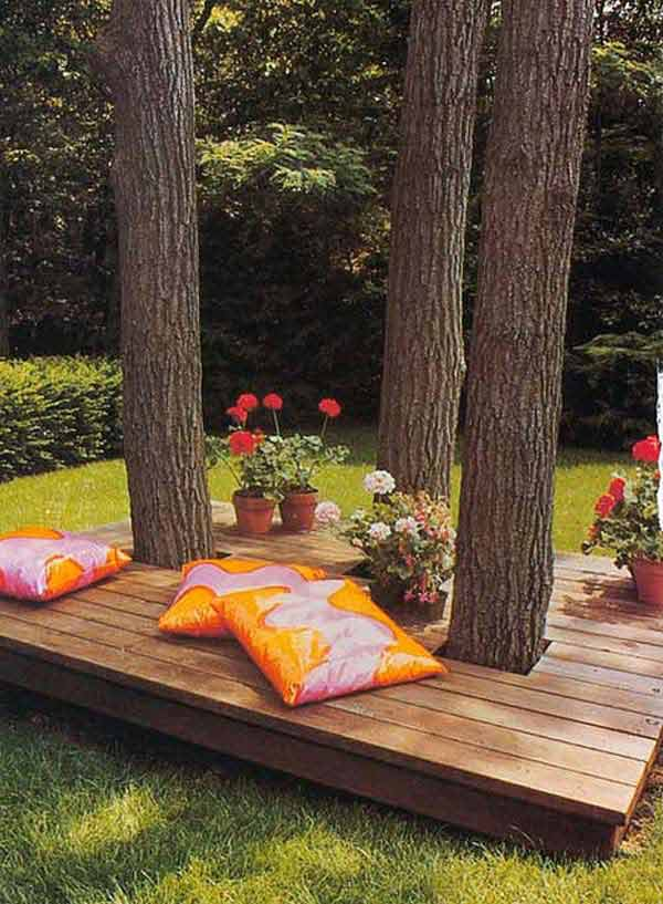 Awesome Outside Seating Ideas You Can Make With Recycled Items - Backyard seating ideas