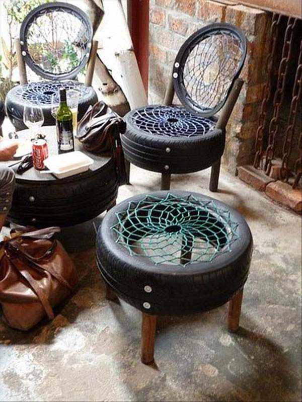 DIY Outdoor Seating Ideas WooHome 8