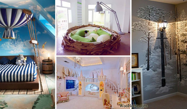 Beautiful Fairy Tale Child Bedroom WooHome 0 Amazing - Lovely interior decoration of bedroom Ideas