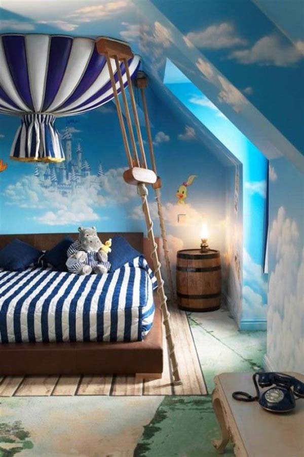 child bedroom decor. Fairy-Tale-Child-Bedroom-WooHome-6 Child Bedroom Decor