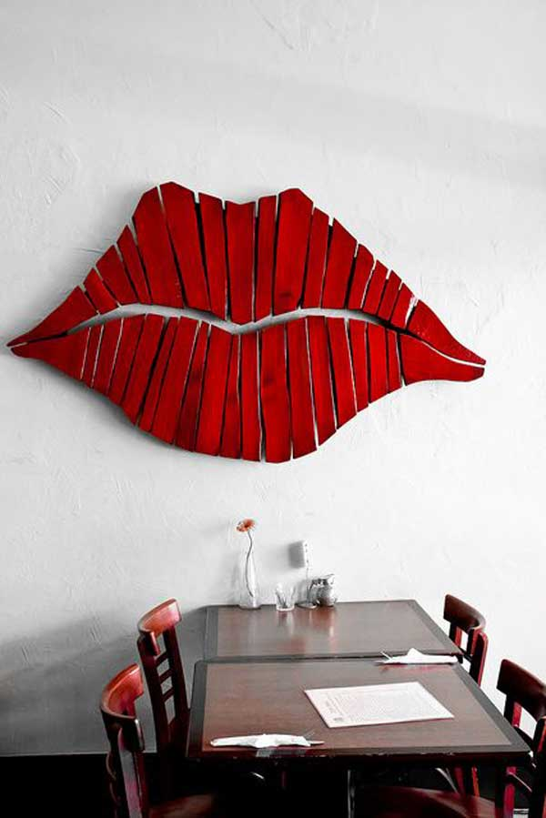 Pallet Wood Wall Art 23 recycled pallet wall art ideas for enhancing your interior