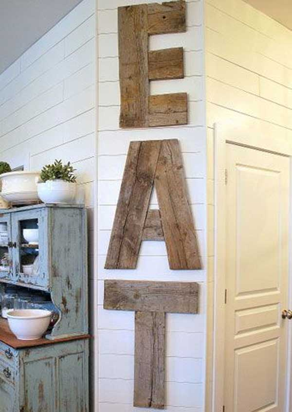 Wood Pallet Wall Art 23 recycled pallet wall art ideas for enhancing your interior