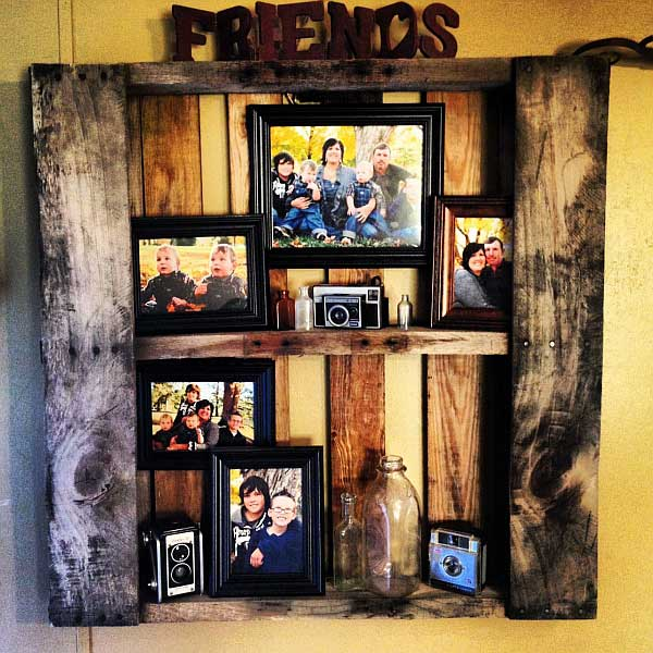 23 Recycled Pallet Wall Art Ideas For Enhancing Your