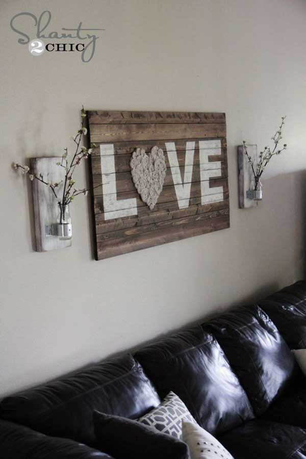 Wood Pallet Wall Decor 23 recycled pallet wall art ideas for enhancing your interior