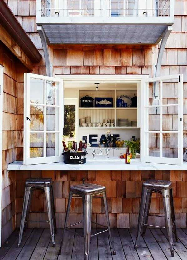 Simple Kitchen Interior Design: 22 Brilliant Kitchen Window Bar Designs You Would Love To