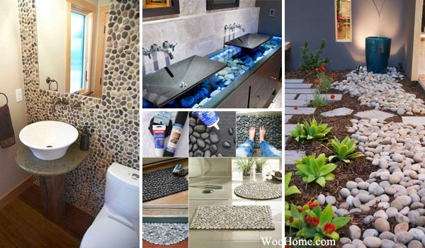 Amazing Ideas Adding River Rocks To Your Home Design Amazing