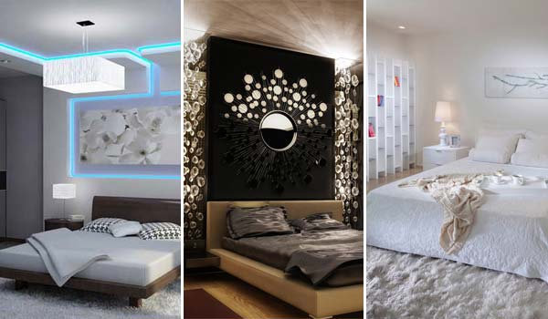 20 charming modern bedroom lighting ideas you will be admired of - Ideas For A Modern Bedroom