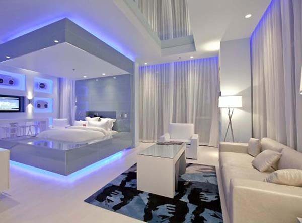 Modern Bedroom Lighting Woohome 11
