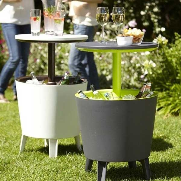 19 Clever DIY Outdoor Cooler Ideas Let You Keep Cool In