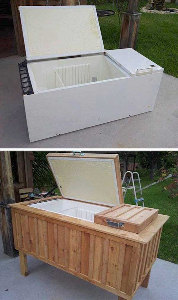 outdoor cooler ideas woohome 3 19 Clever DIY Outdoor Cooler Ideas