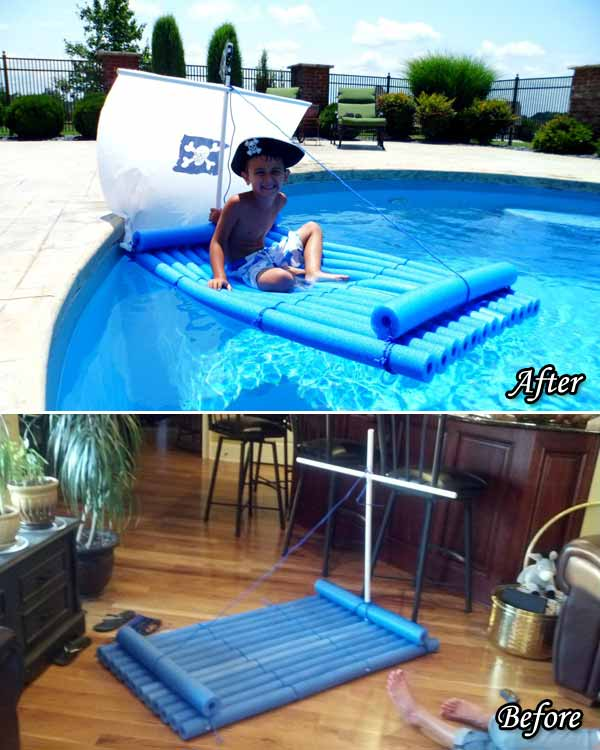 Top 21 The Best DIY Pool Noodle Home Projects And