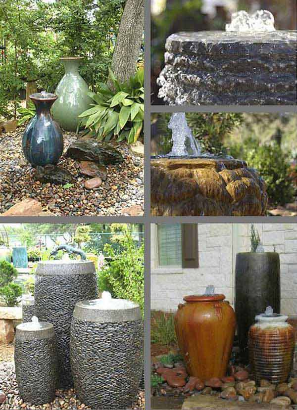 Diy Water Feature Ideas Woohome 1