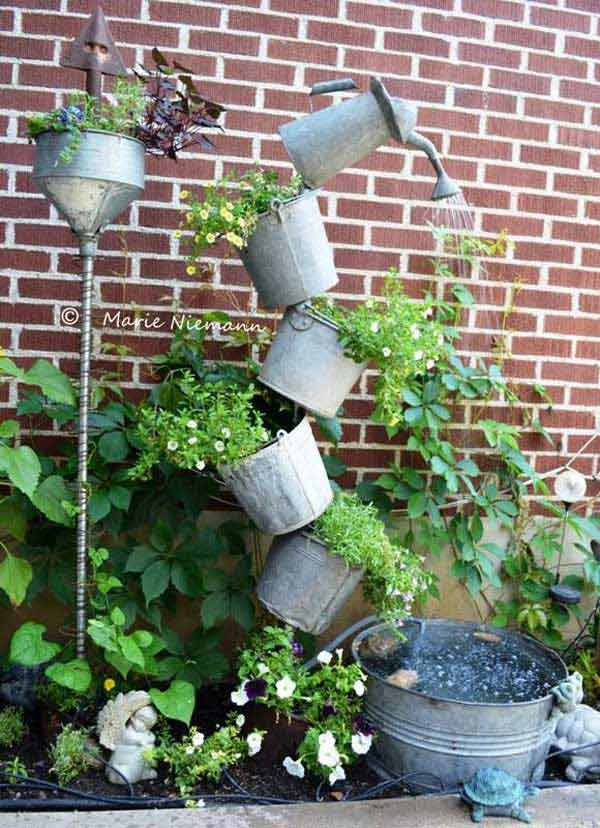 26 diy water features will bring tranquility and