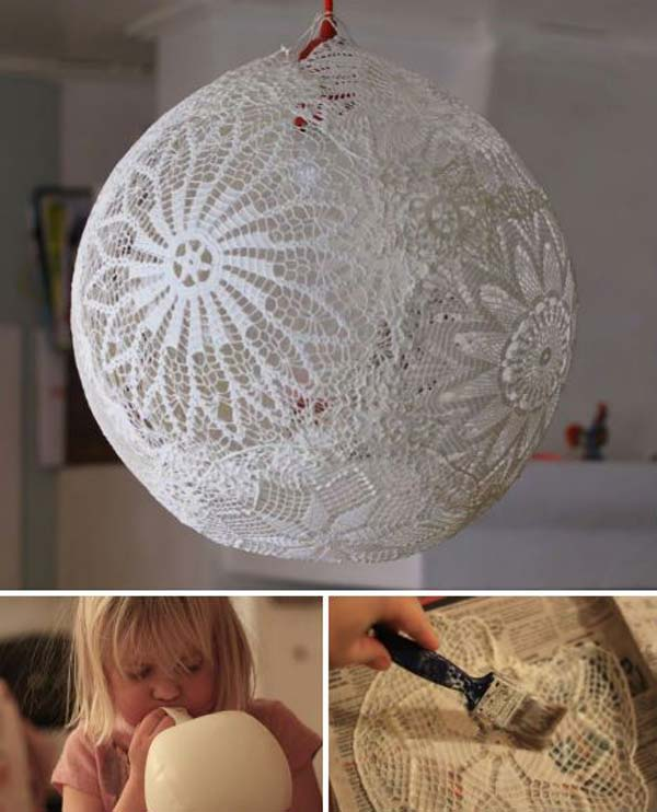 Top 22 Charming Home Decorating Diys Can Make With Lace
