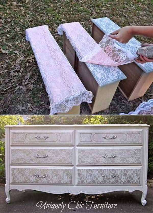 Lacy Chest of Drawers