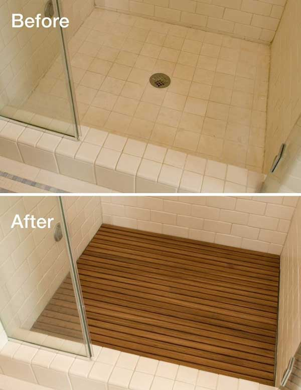 19 affordable decorating ideas to bring spa style to your for Low budget flooring ideas