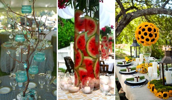 19 lovely summer wedding centerpiece ideas will amaze your guests 19 lovely summer wedding centerpiece ideas will amaze your guests junglespirit Images