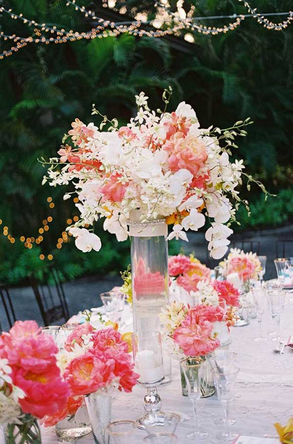 19 lovely summer wedding centerpiece ideas will amaze your guests summer wedding centerpiece ideas woohome 1 junglespirit Images