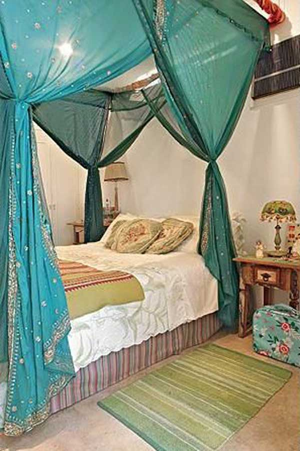 diy-bed-canopy-woohome-12 & 20 Magical DIY Bed Canopy Ideas Will Make You Sleep Romantic ...