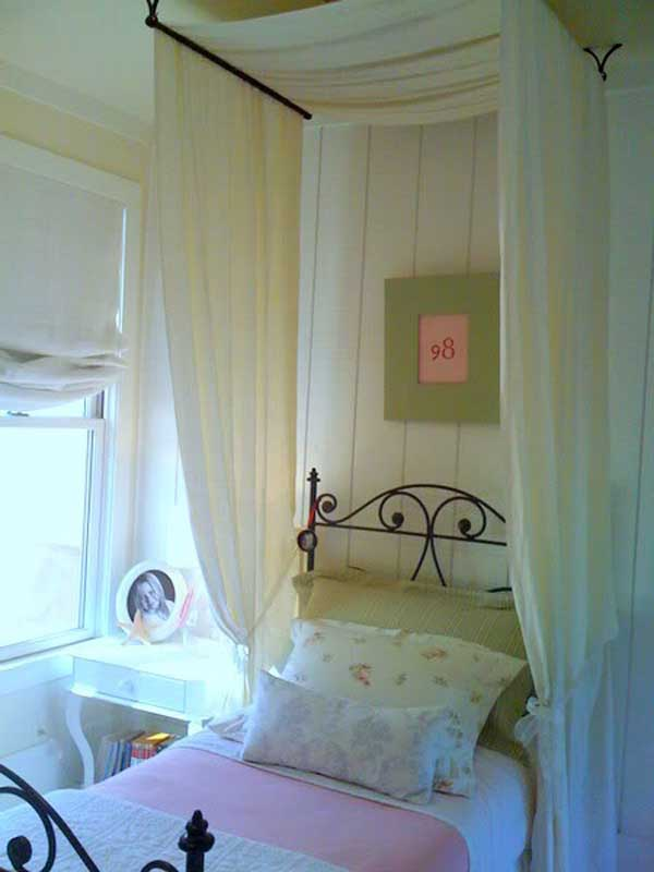 Canopy Beds With Curtains 20 magical diy bed canopy ideas will make you sleep romantic