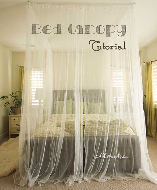 Bed Canopy Diy Interesting 20 Magical Diy Bed Canopy Ideas Will Make You Sleep Romantic . Review