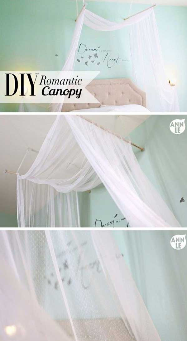 Diy Bed Canopy Woohome 16
