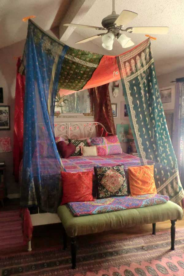 20 Magical DIY Bed Canopy Ideas Will Make You Sleep ... on Cheap:l2Opoiauzas= Bedroom Ideas  id=97582