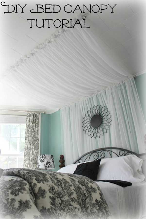 Diy Bed Canopy Woohome 8