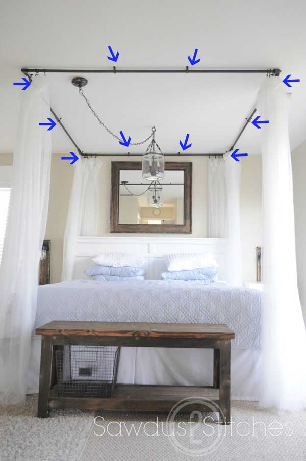 Diy Bed Canopy Woohome 9