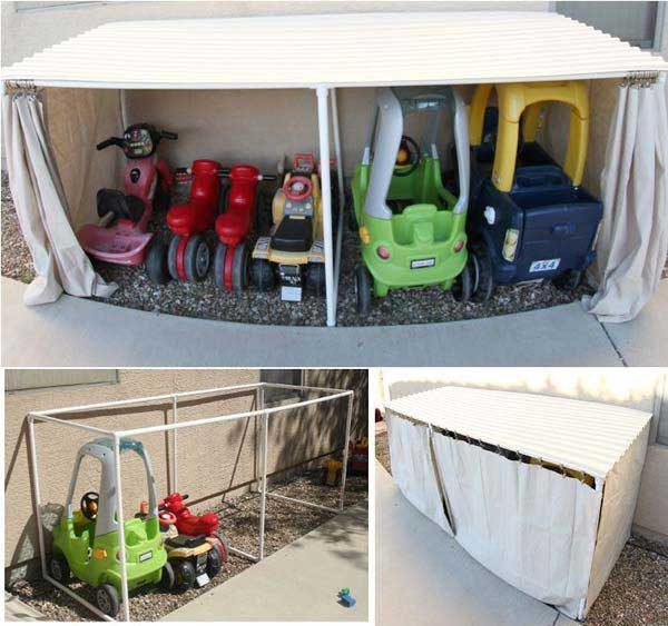 Diy Storage Solutions For Your Garden