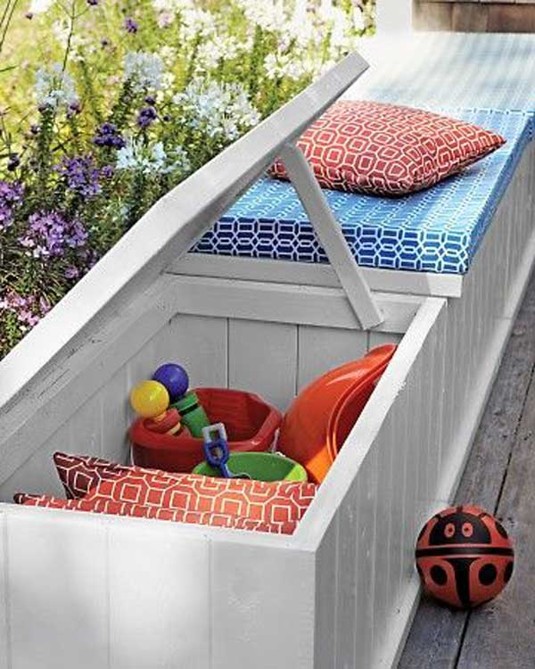 24 Practical Diy Storage Solutions For Your Garden And Yard Amazing Diy Interior Home Design