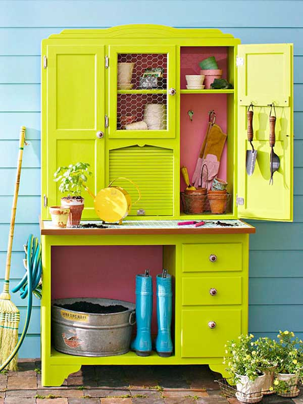 Diy Outdoor Storage Ideas Woohome 16