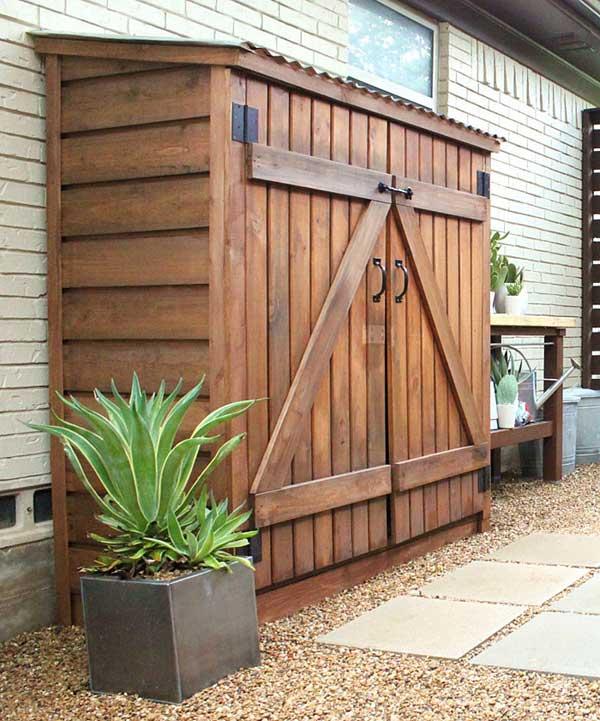 Diy Outdoor Storage Ideas Woohome 22