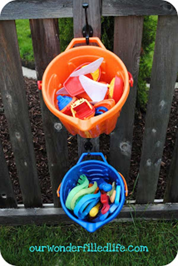 Outside Toys For Day Care : Practical diy storage solutions for your garden and